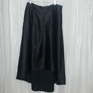 Ashley Tipton Boutique High-low Skirt w/POCKETS
